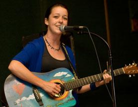 Sebrina at Mulligan's on the Blue